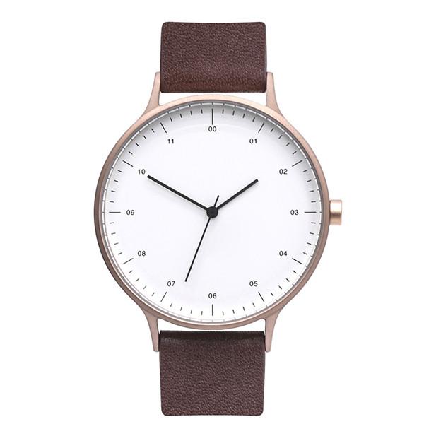 High Quality Fashion Classic 5 Atm Simple Custom Logo Men Quartz Wrist Watch Oem
