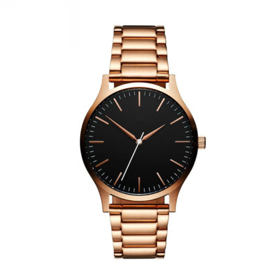 Custom Watch Manufacturer Stainless Steel Strap Men Minimalist Luxury Watch