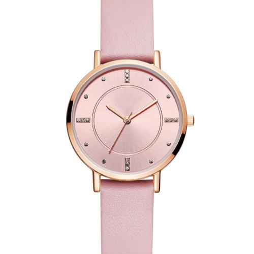 luxury simple fashion watch women custom logo waterproof quartz wristwatch for lady