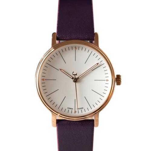 Hot sale fashion simple women quartz waterproof elegant watch comfortable leather watches