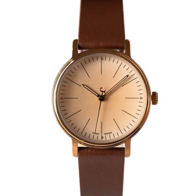 Ultra-thin watch temperament simple fashion retro bestie girls skin with waterproof quartz wrist watches
