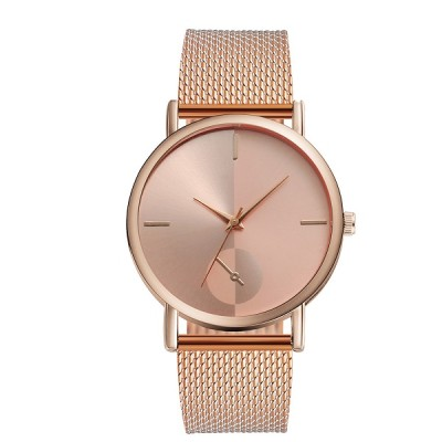 2021 Women Black Watch Hot Sale Leather Band Stainless Steel Analog Quartz Wristwatch Lady Female Casual Watches