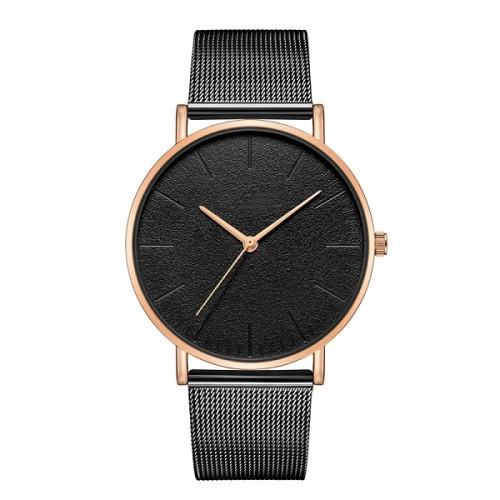 Men Watches 2021 Luxury Male Elegant Ultra Thin Watch Men Business Stainless Steel Mesh Quartz Watch Relogio Masculino Hot Sale