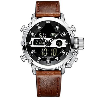Luxury Brand Analog Digital 3ATM Water Resistant Sport Military Men Quartz Watches