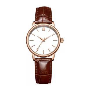 Hot Selling Waterproof Couple Watch Men Ladies Stainless Steel Quartz Watch