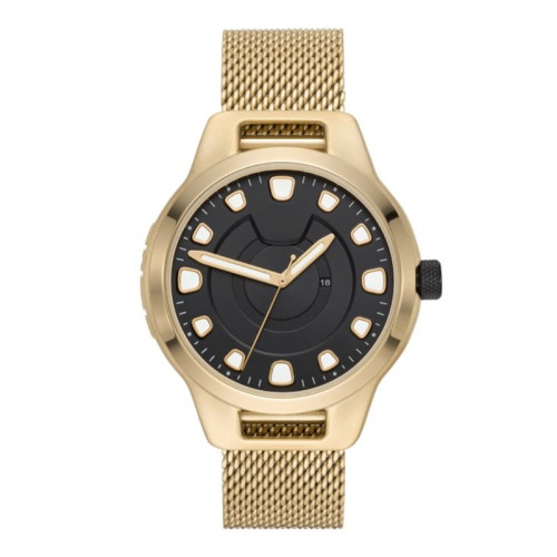 Stainless steel waterproof high end elegant luxury quartz men's wrist watches