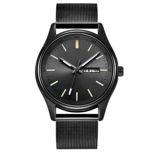 Simple classic fashion custom logo brand genuine leather ladies quartz watch