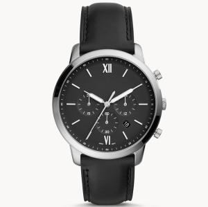 2021 new design three crown genuine leather strap business luxury quartz classic men's wrist watches