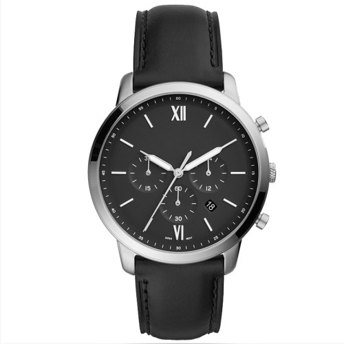 High quality genuine leather strap waterproof luxury quartz classic men's wrist watches