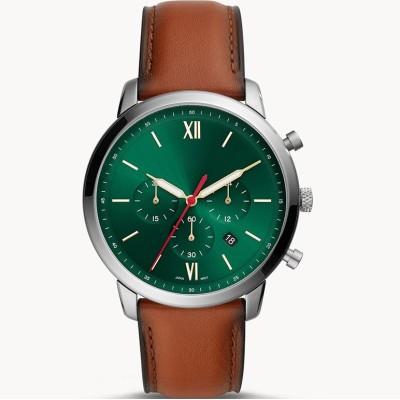 2021 luxury genuine leather retro fashion special design three crown business men's watches