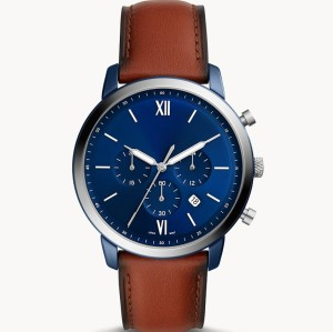 Luxury genuine leather retro fashion business men's watches