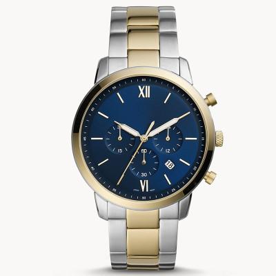 New design customized waterproof stainless steel strap luxurious business men's quartz watches