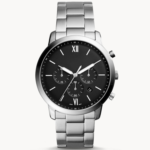 Fashion customized three crown stainless steel strap luxurious business men's wrist watches
