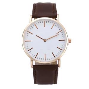 New design stainless steel watch personalized custom logo quartz watch