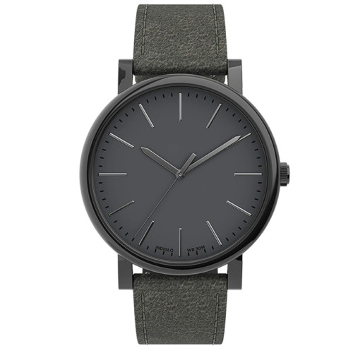 New design Luminous Wristwatch leather strap Buckle Sapphire Glass Swiss movt Quartz Watch for men business