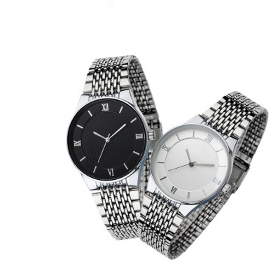 wrist watch man and woman couple watch jewelry mens watches quartz simple luxury wristwatches strap stainless steel