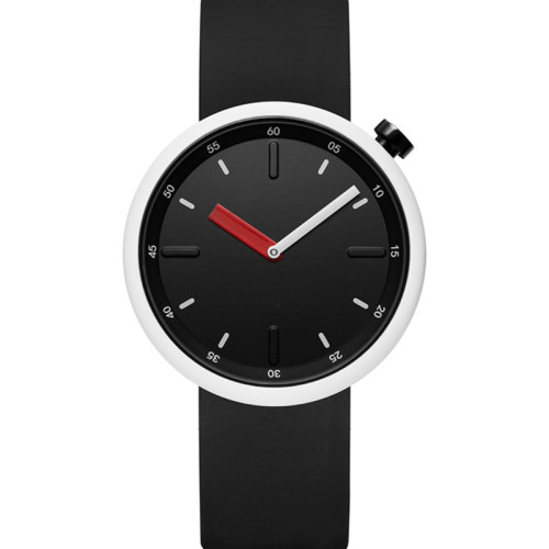 OEM fashion silicone simple waterproof couple colorful pointer women's and men's quartz watches