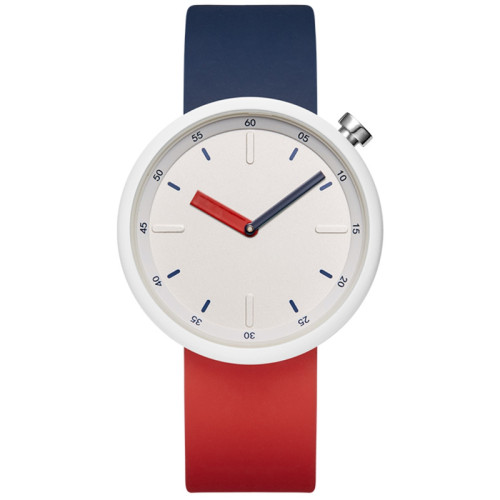 Simple silicone strap students school watch colorful pointer youth women's quartz watches
