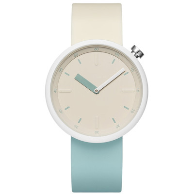 Silicone strap youth students watch colorful pointer women's quartz watches