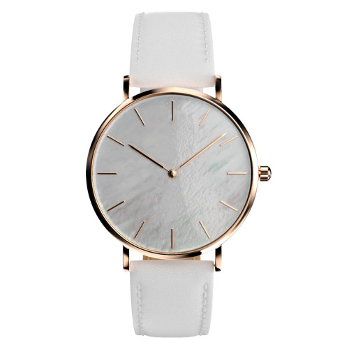 Classic minimalist black metallic stainless steel watches customized low order