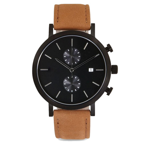 Custom your fashion men chronograph wrist watches minimalist business gift luxury men watches