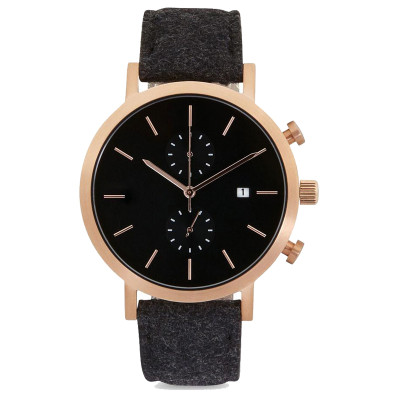2021 Custom High Quality Sapphire Crystal Glass watches Stainless Steel Back chronograph Watches