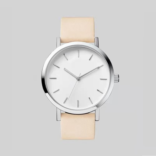 Oem Sunray Face Minimalist Luxury Brand Custom Logo Chronograph Men Quartz Watch With Two Sub-dials