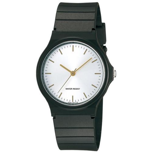 Fashion simple retro quartz life waterproof rubber leather men's watches