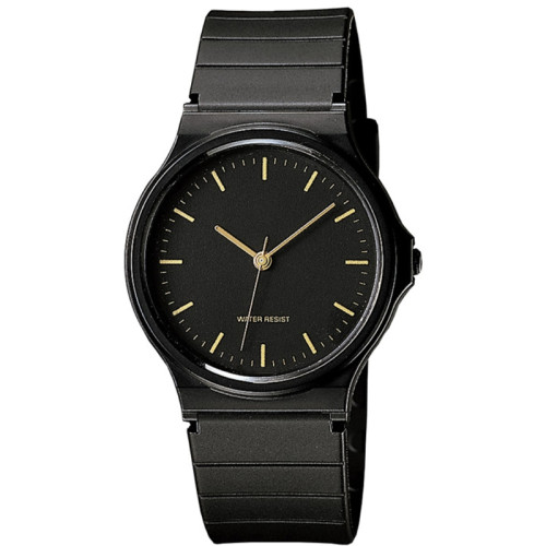 Hot Selling Custom Logo Soft Silicone Black Quartz Wrist Watch For Men