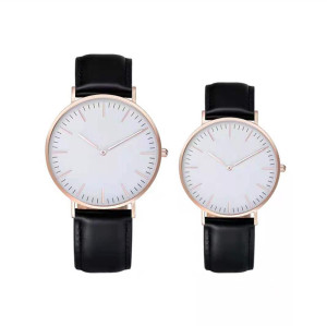 Classic Men Luxury Brand Watches Black Stainless Steel Minimalist Male Clock Waterproof Quartz Men Wrist Watch