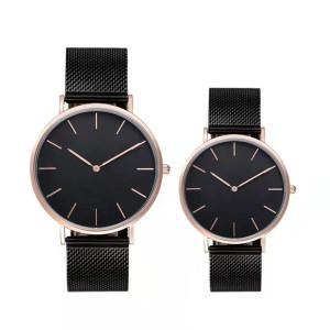 Luxury Diamond Mens Quartz Watch Stainless Steel Women Wrist Luxury Women Automatic Watch