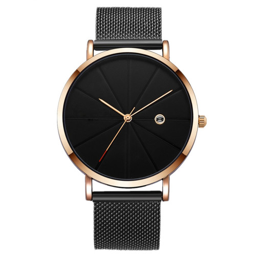 Hot Selling Mens Watches Analog Quartz Business Classic Trendy Stainless Steel Men Watch Oem