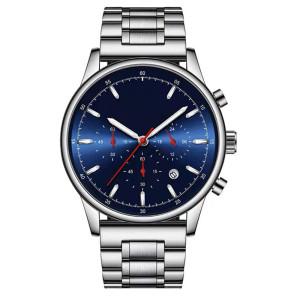 Classic Men Luxury Brand Watches Black Stainless Steel Minimalist Male Analog Clock Waterproof Quartz Men Wrist Watch