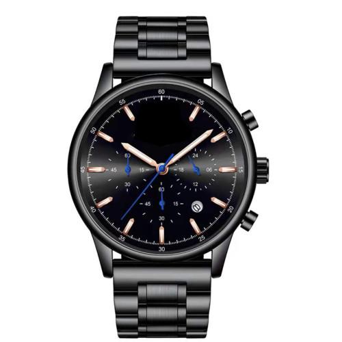 Hot sale fashion simple dial mens quartz watch waterproof calendar mens wristwatches custom your brand watches