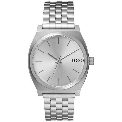 2021 Top Selling Stainless Steel OEM Waterproof Unisex Brand Luxury Wrist Business Men's Watches