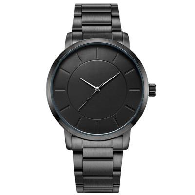 Simple classic fashion couple watch custom logo brand quartz watch