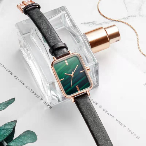 Custom factory price hot selling simple men stainless steel square watch