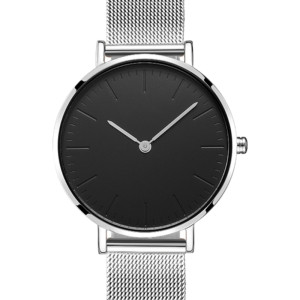 2021 China Manufacturer Wristwatch Rose gold Watch Women Stainless Steel Mesh Band