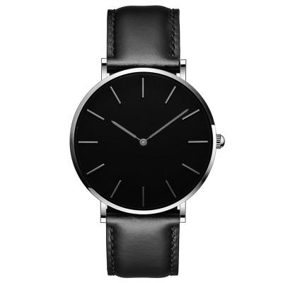 Minimalist Style Wristwatches Creative Men Women Design Alloy Case Simple Face Watch