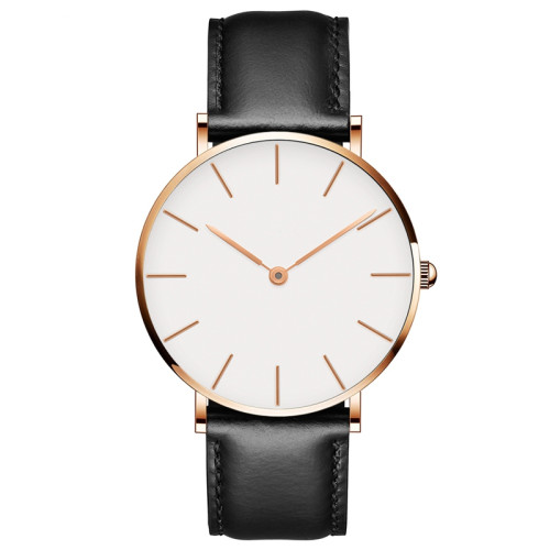 2021 Japan Quartz Simple Women Fashion Watch OEM Water Resistant Ladies Low Key Wristwatch