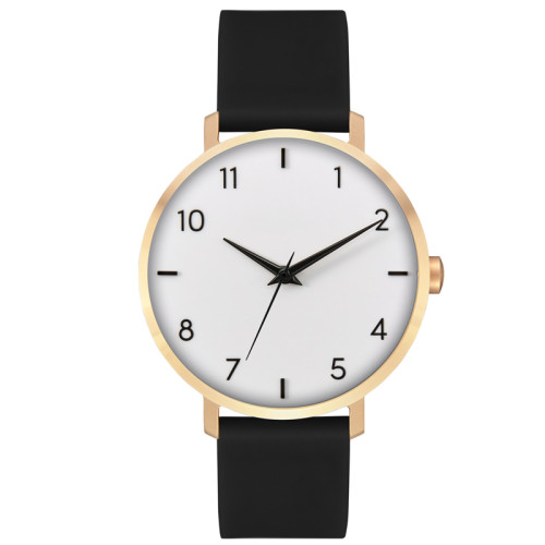 Luxury Women Watches Simple Dial Quartz Watch Leather Band Waterproof Wrist Watches for Ladies