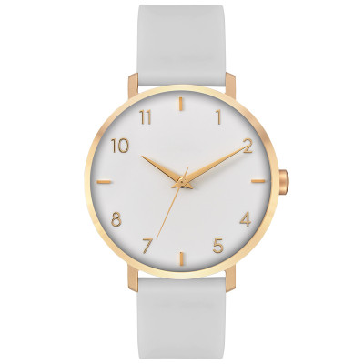 Custom watches wholesale leather wrist women chronograph men quartz sport watches