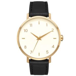Simple Ultra Thin Fashion Leather Latest Design Quartz Ladies Minimalism Wrist Women Watches