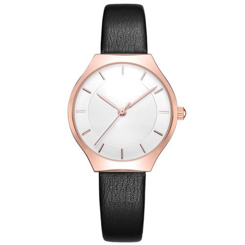2021 OEM Elegant Women Watches Leather Small Size Quartz Reloj Life Waterproof Ladies Wrist Watch