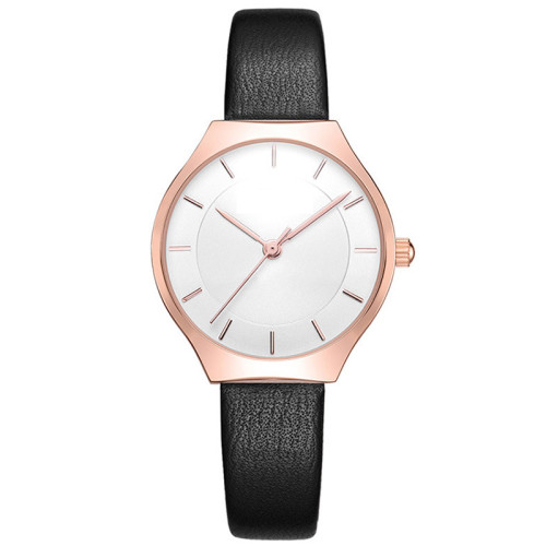 Luxury Women Watches Sky Dial Analog Quartz Watch Leather Band Waterproof Wrist Watches for Ladies