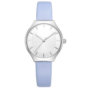 Elegant Women Watches Genuine Leather Simple Dial Quartz Reloj Life Waterproof Ladies Watch