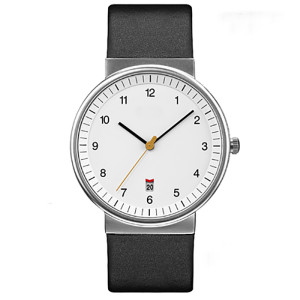 Low oem moq custom watch waterproof classic stainless steel watch quartz watch