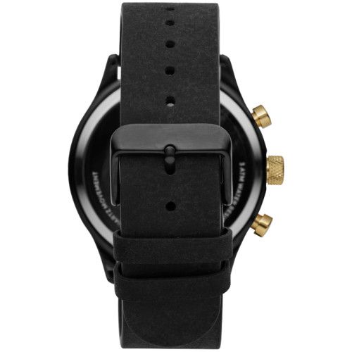 High Quality Mature Men'S Multifunction Quartz Relogios leather Watch Strap Watches For Men