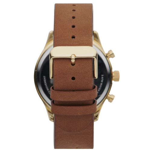 Fashion Business Quartz Multifunction Waterproof Date Luminous Gold Watches Mens