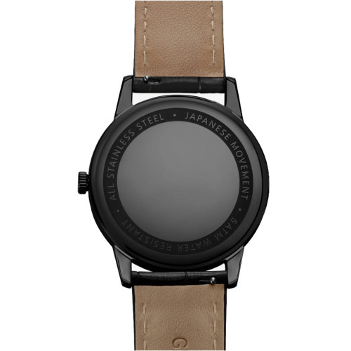 Better Price Custom Quartz Brand Watches With Date Crocodile Leather Watch Strap
